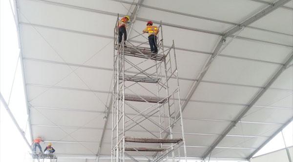 帐篷介绍和施工过程