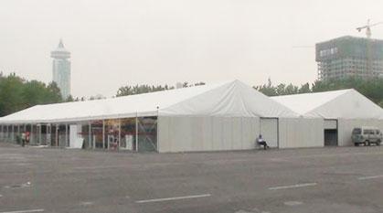 2010年安徽九华山4000平米钢铝餐饮篷房