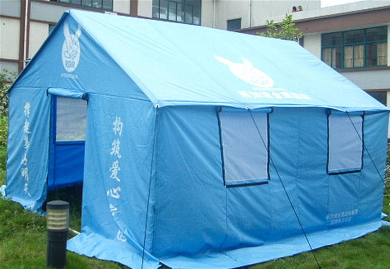 2008年3.2x3.7m救灾帐篷2008年汶川地震8000顶