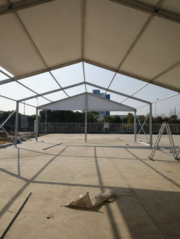 分享下铝合金篷房结构组成及注意事项