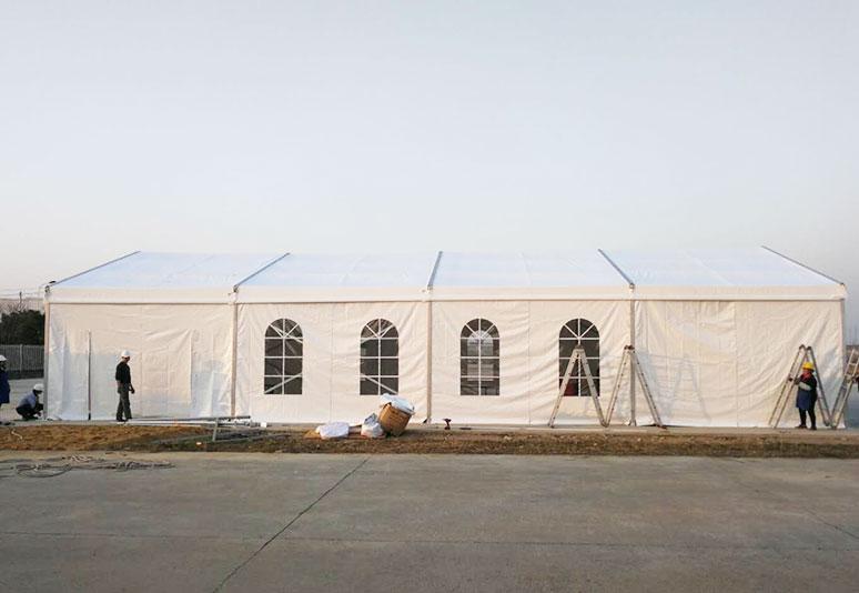 2018年常州10x15m小篷房