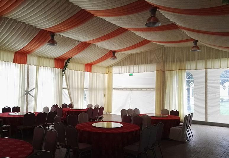 2015年横店贵宾楼15x30m婚庆篷房